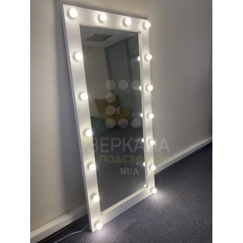 Гримерное зеркало с подсветкой 175х80