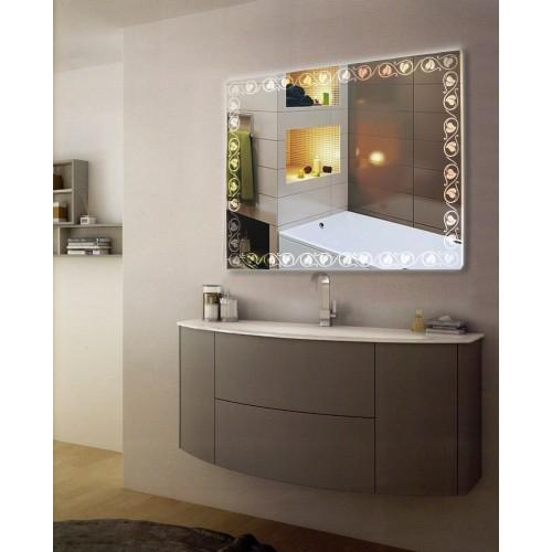 Зеркало в ванную с подсветкой Наоми